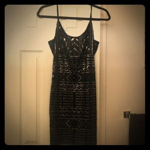 Sequin dress from express size small